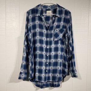 Oversized Flannel   Pattern